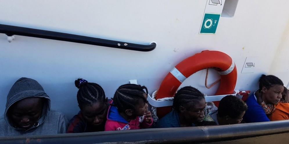 Operazione della Guardia Costiera libica
