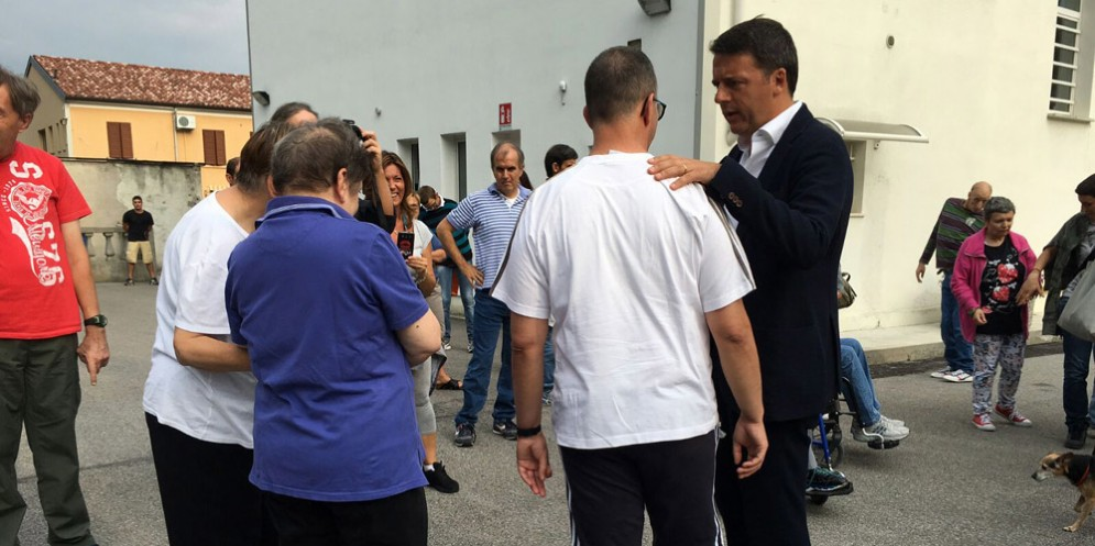 Autismo: Renzi visita residenza di Medea