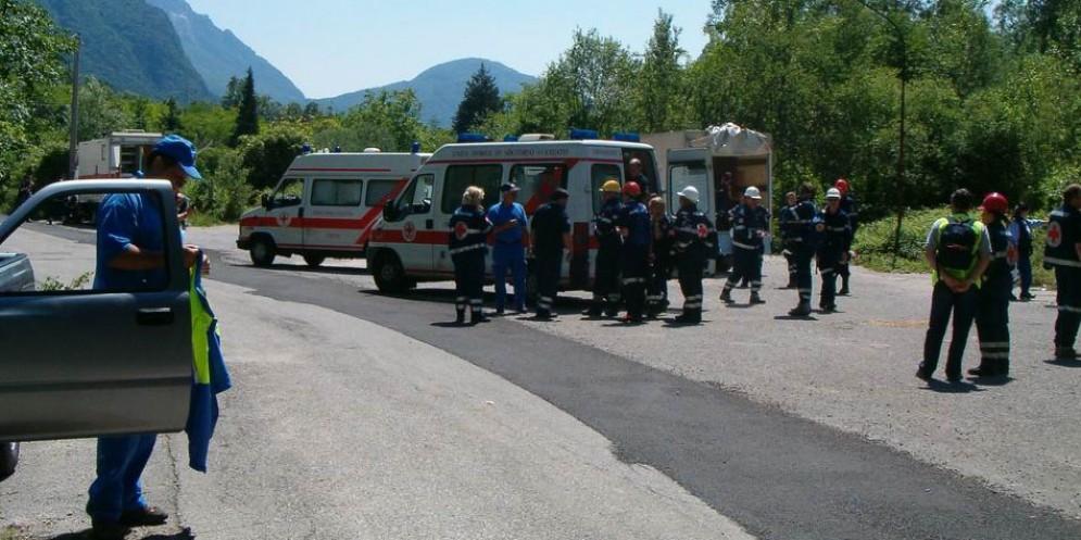Terremoto: esercitazione a Venzone con Austria e Slovenia