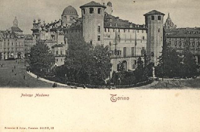 Il retro di Palazzo Madama