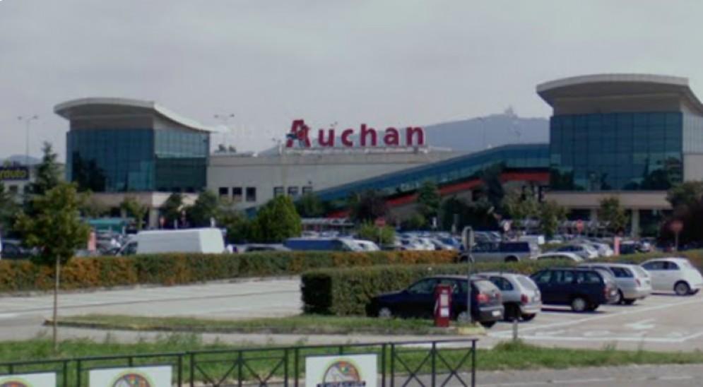 L'Auchan di corso Romania