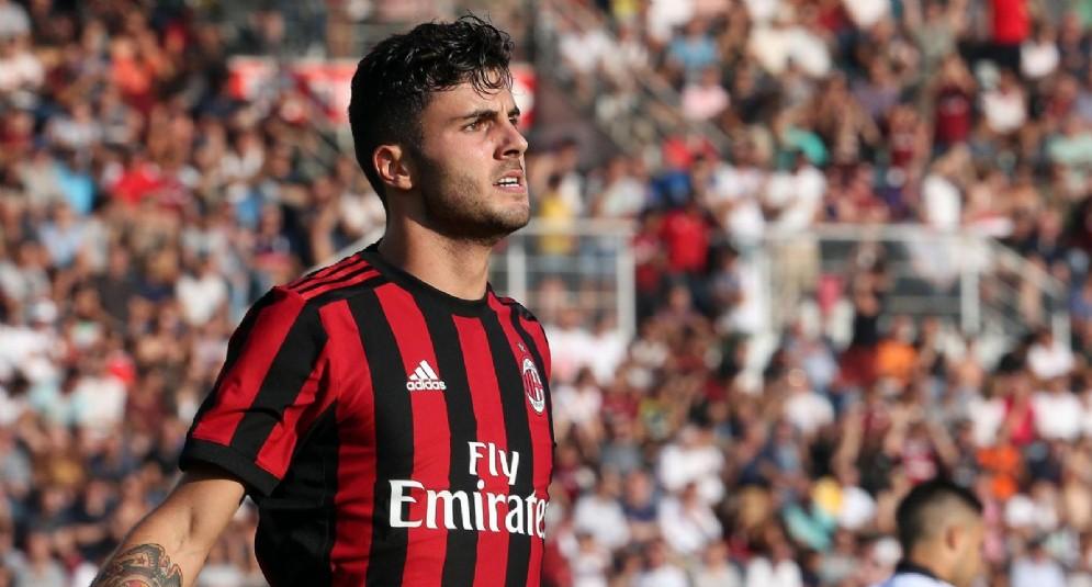 Patrick Cutrone, centravanti del Milan