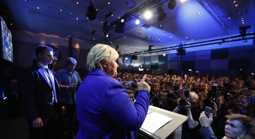 In Norvegia le elezioni sono state vinte dalla coalizione di centrodestra.
