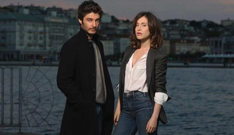 Lino Guanciale e Gabriella Pession