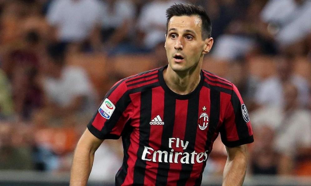 Il centravanti del Milan Nikola Kalinic
