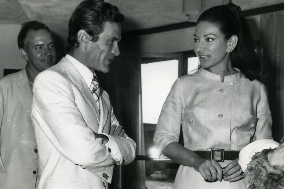 Maria Callas, arriva il film «L'isola di Medea»