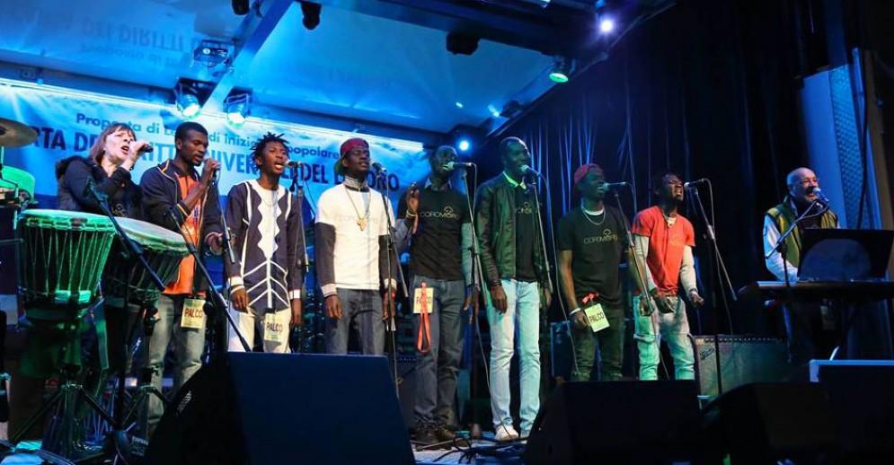 I Coro Moro in concerto (immagine d'archivio)