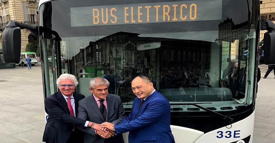 Bus elettrici GTT