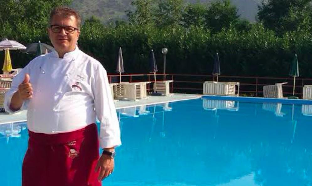 Lo chef Davide Valloni