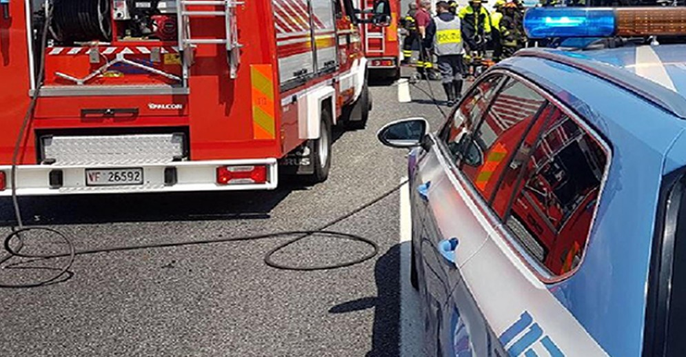 Incidente in tangenziale tra corso Regina Margherita e l'uscita di Borgaro.L