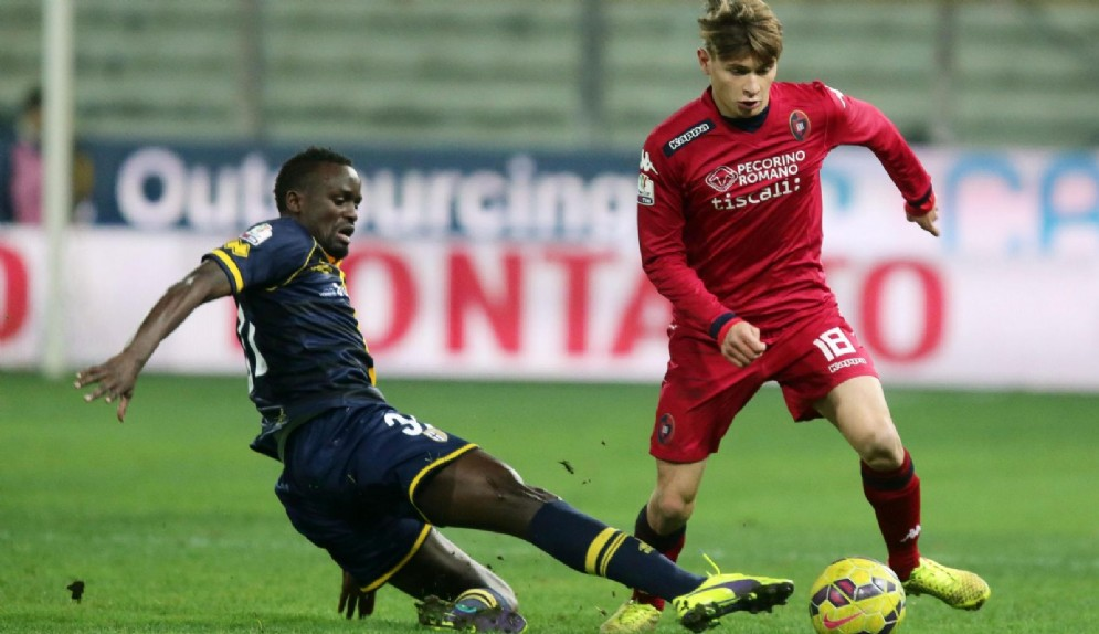 Il centrocampista del Cagliari Barella