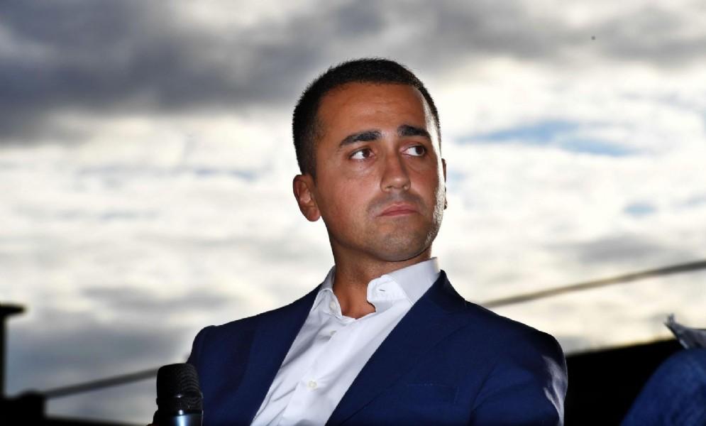 Il vicepresidente della Camera Luigi di Maio, candidato premier per il M5s