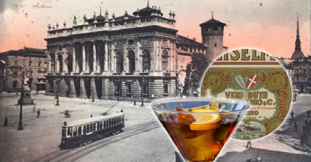 L'aperitivo è nato a Torino, in piazza Castello