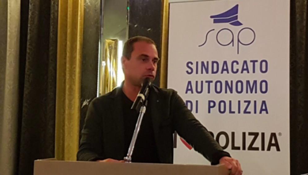 Lorenzo Tamaro, Segretario Provinciale Sap