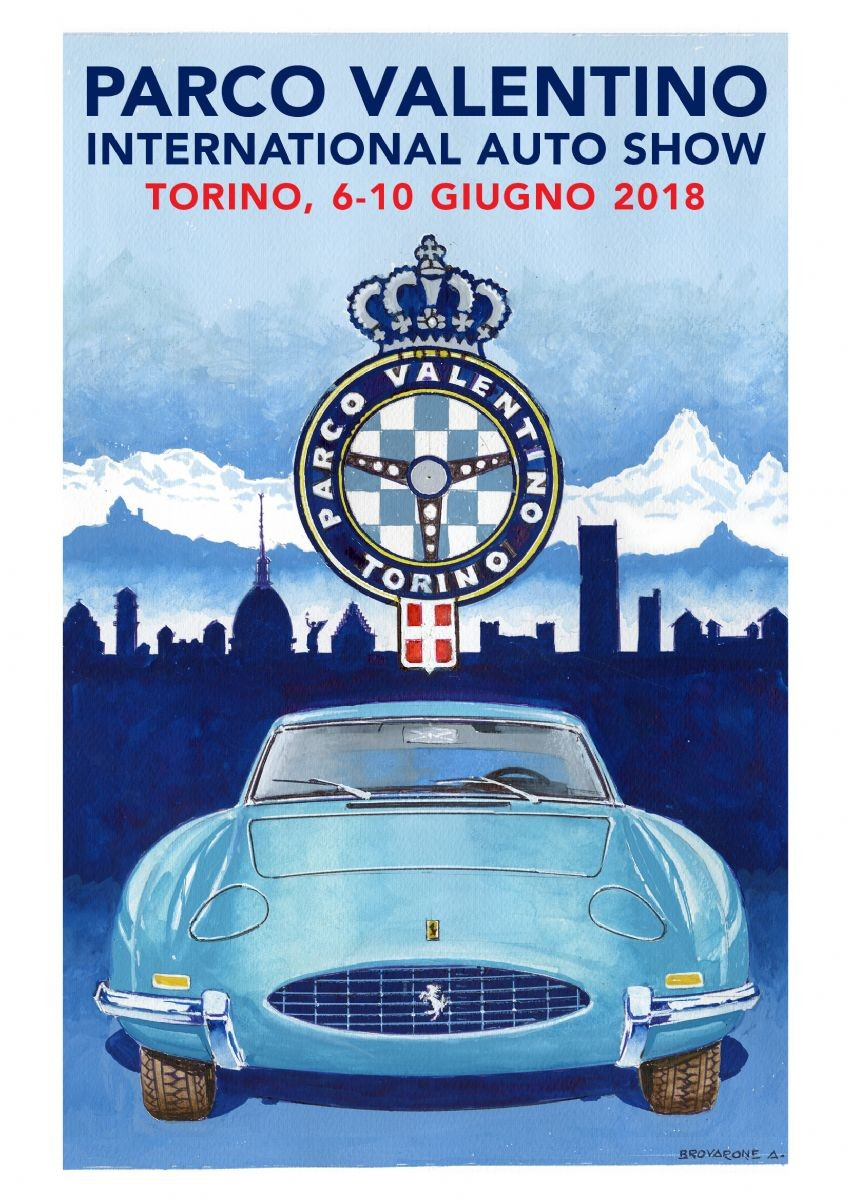 La locandina dell'edizione 2018 del Salone dell'Auto