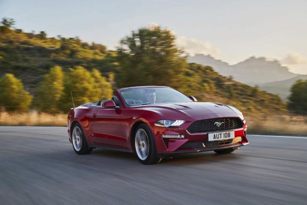 Un'altra immagine della nuova Ford Mustang