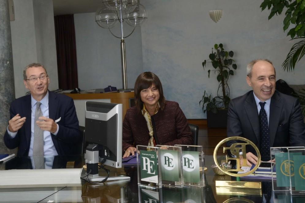 Serracchiani, Bolzonello e Del Fabbro