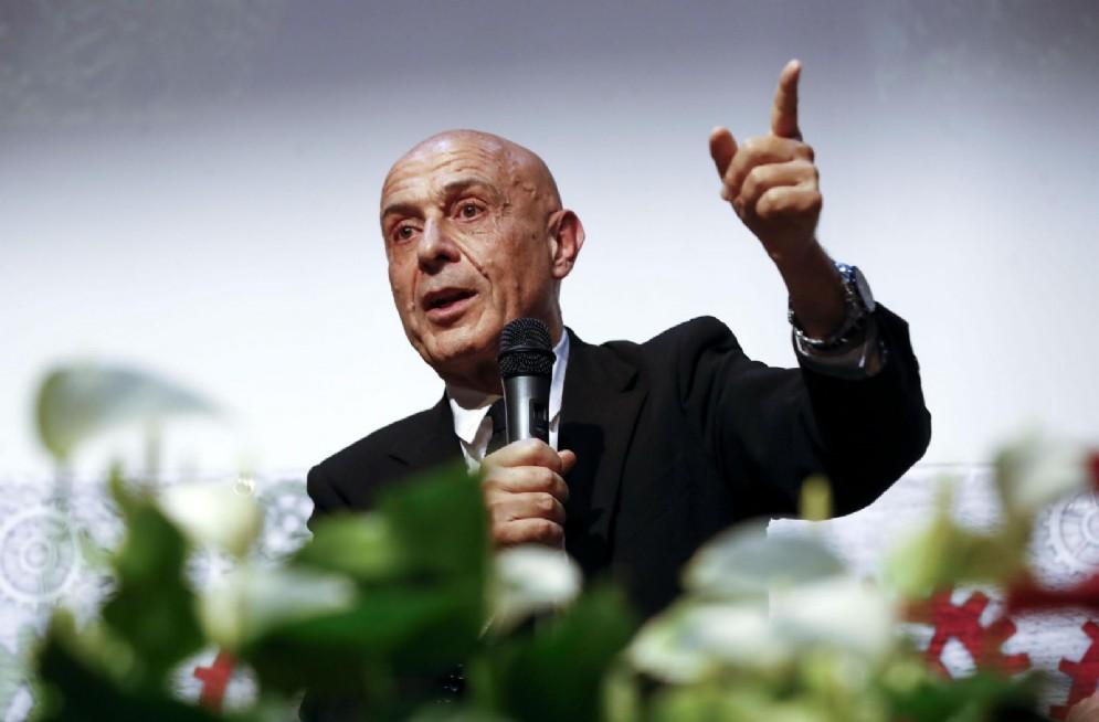 Il ministro Marco Minniti ad Atreju