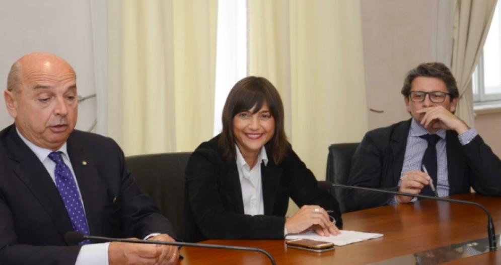Dipiazza, Serracchiani, D'Agostino