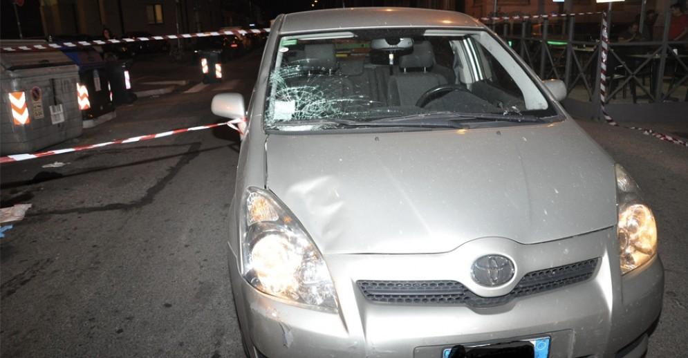 L'incidente è avvenuto alle 21:15 in via Santa Fè
