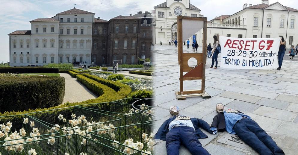 Proteste contro il G7