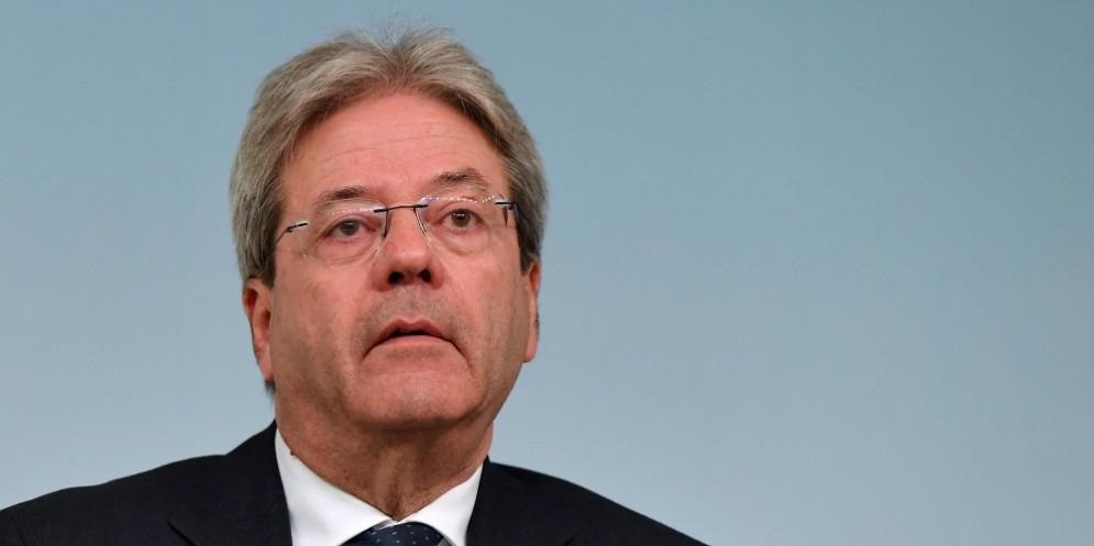 Il premier Paolo Gentiloni ha leto il report di Allianz.