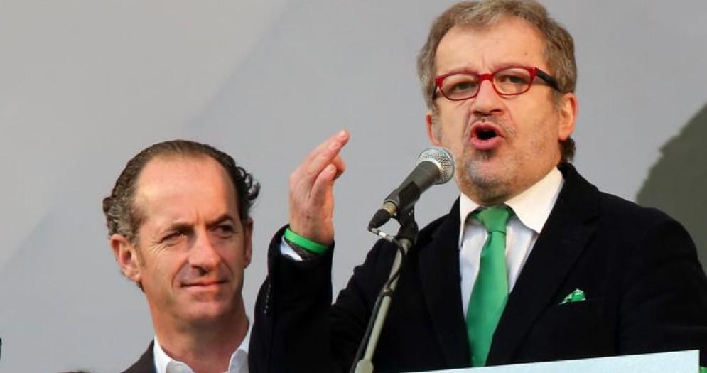 I Presidenti delle regioni Veneto e Lombardia: Luca Zaia e Roberto Maroni