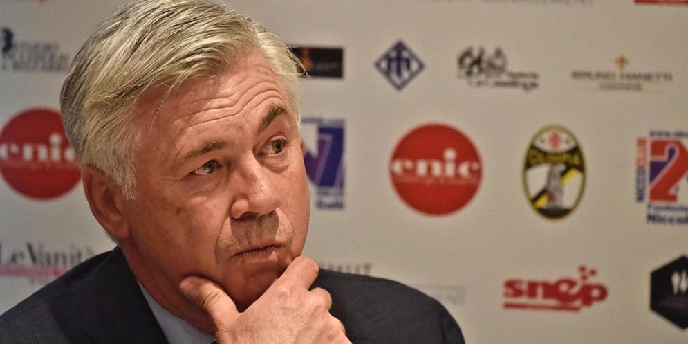 L'ex tecnico del Bayern Carlo Ancelotti