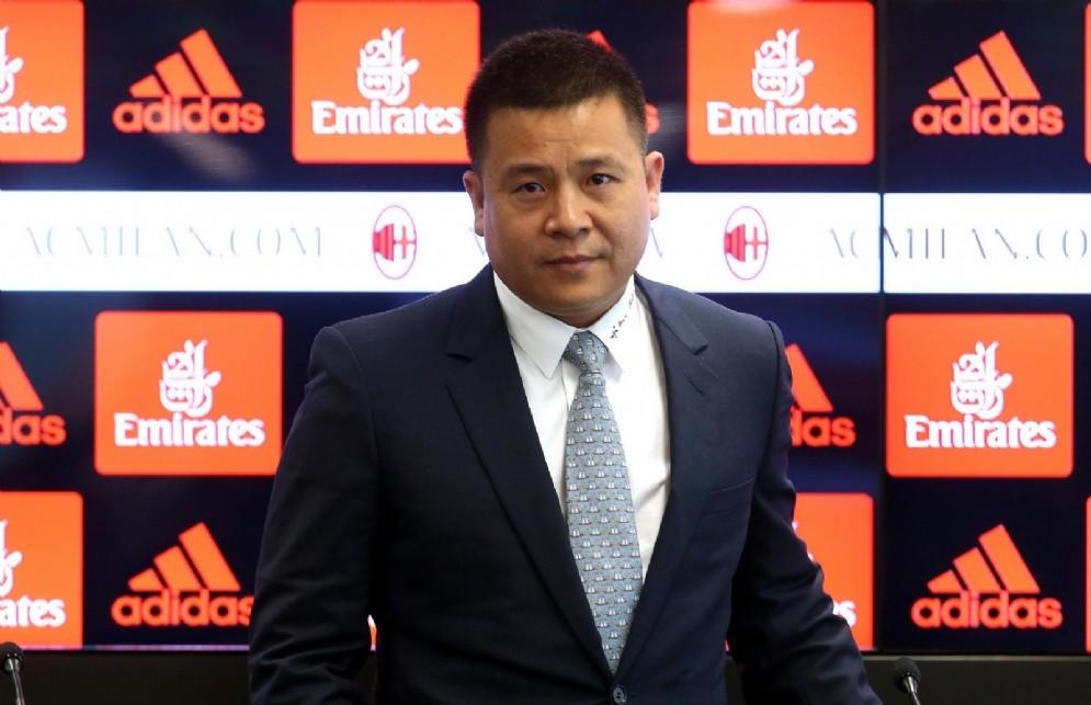 Il proprietario dell'Ac Milan Li Yonghong