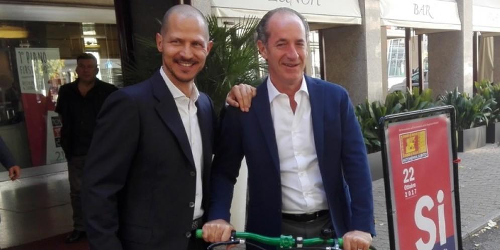 Il Presidente della Regione Veneto, Luca Zaia: «Referendum? Pronti allo sprint»