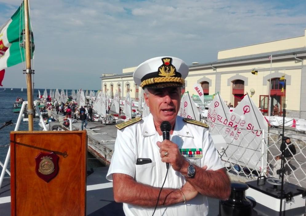 L'ammiraglio Vincenzo Melone