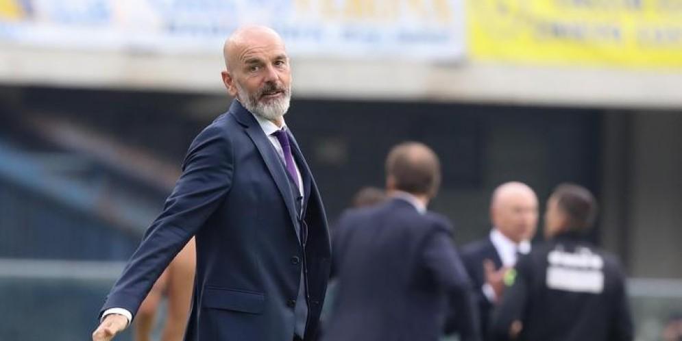 Il tecnico della Fiorentina, Stefano Pioli