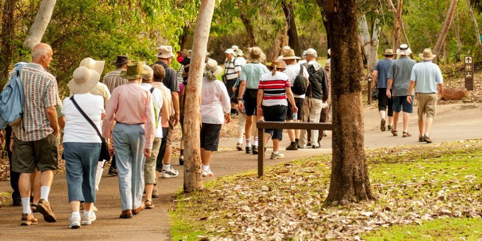 Camminamenti: al via i percorsi per l'invecchiamento attivo