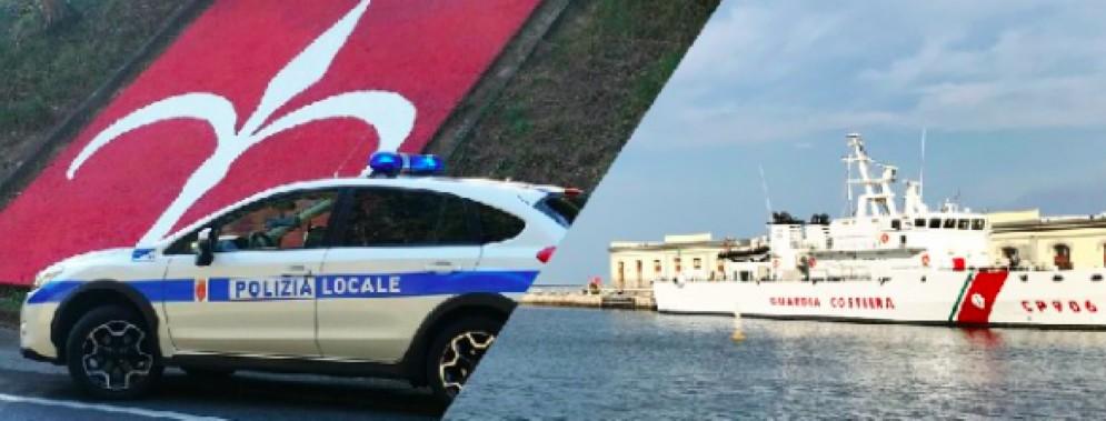 Tra strada e mare, la vita al centro. Salvaguardare le persone come missione di Polizia Locale e Guardia Costiera