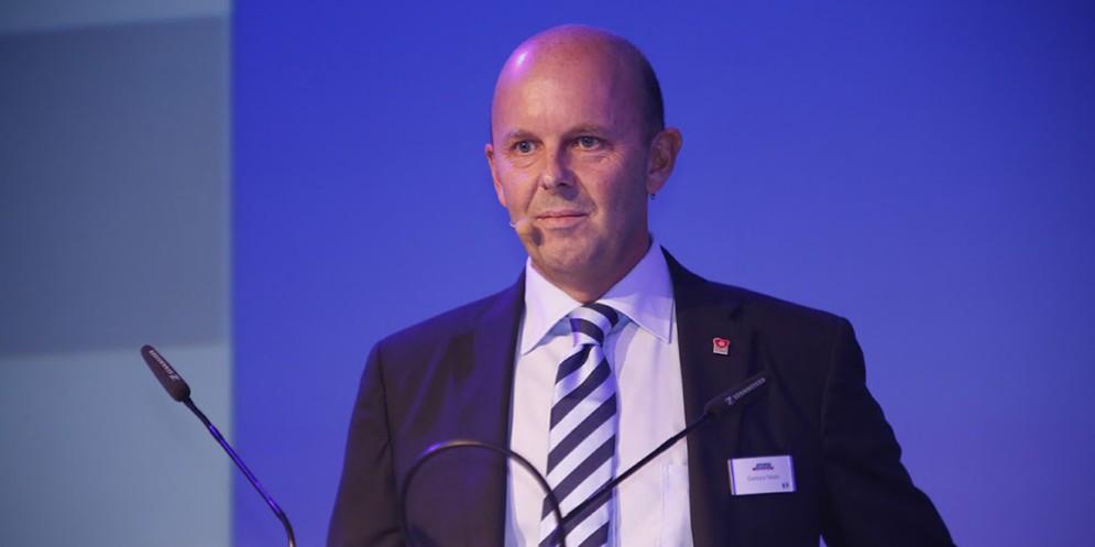 L'amministratore delegato di Bofrost Gianluca Tesolin