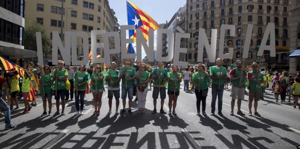Lo sciopero generale di oggi ha bloccato la Catalogna.