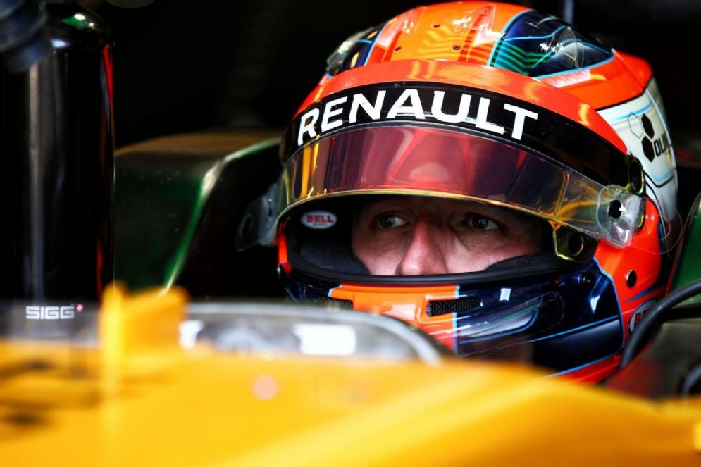 Kubica al volante della Renault nel test dello scorso agosto a Budapest