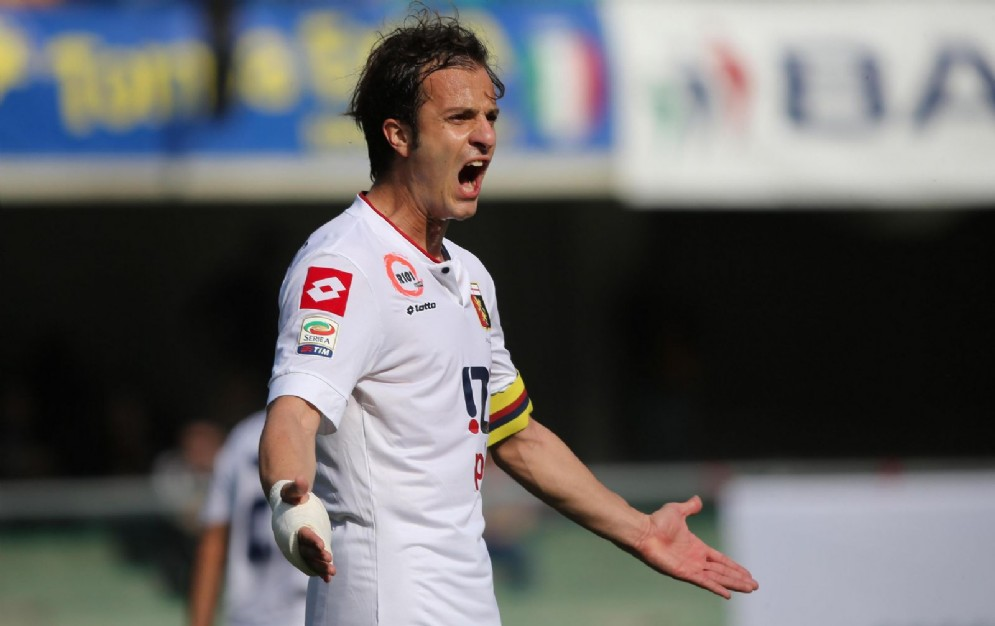 Alberto Gilardino, neo attaccante dello Spezia
