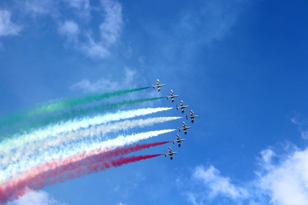 Show delle Frecce Tricolori