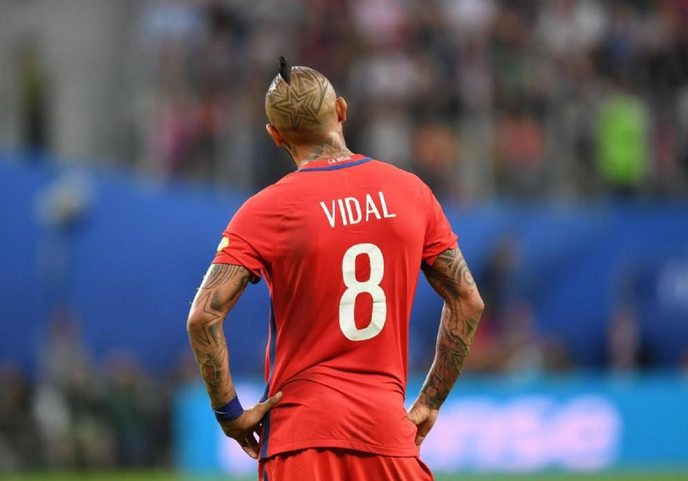 Arturo Vidal, centrocampista del Bayern Monaco e della nazionale cilena