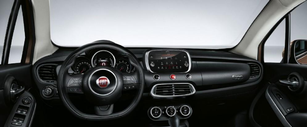 Il cruscotto della Fiat 500X Model Year 2018