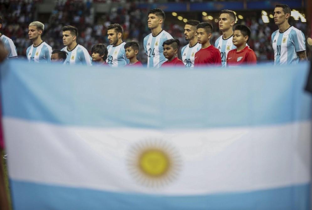 La nazionale argentina si prepara alla delicatissima sfida contro il Perù