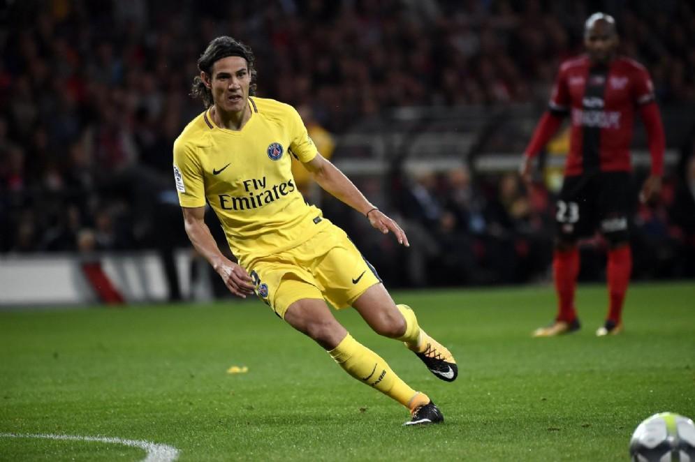 Edinson Cavani, centravanti del Paris Saint Germain e della nazionale dell'Uruguay