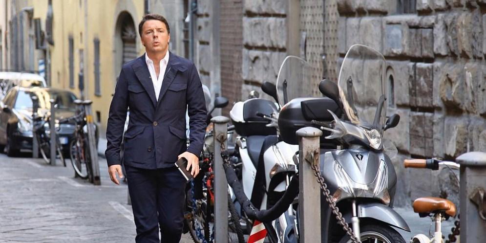 Il segretario Pd Matteo Renzi