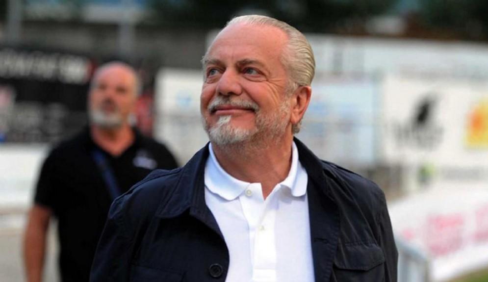 Aurelio De Laurentiis, proprietario del Napoli
