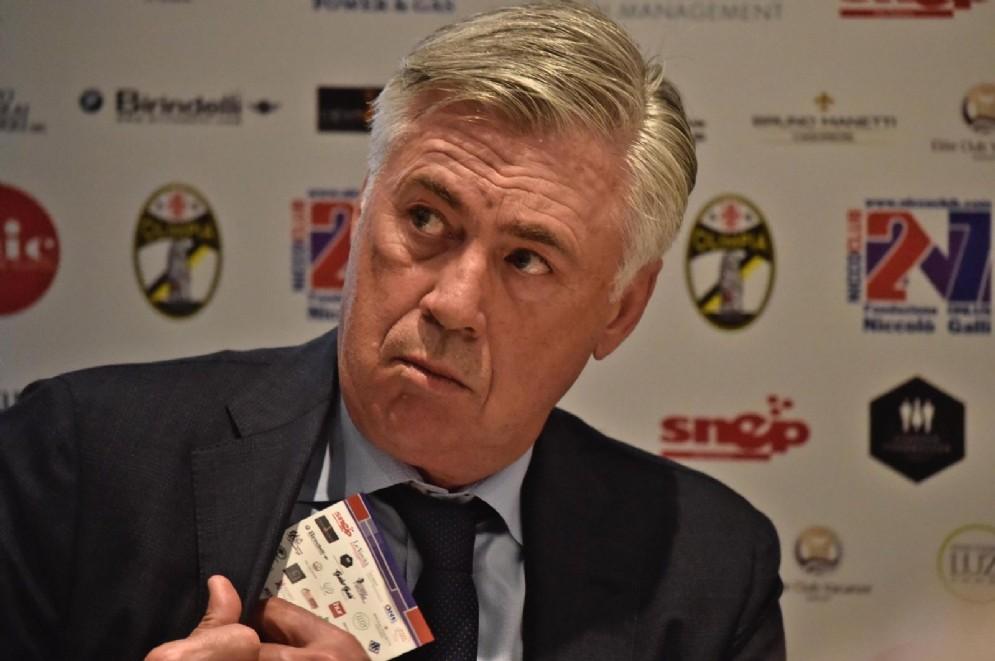 Carlo Ancelotti, appena esonerato dal Bayern Monaco