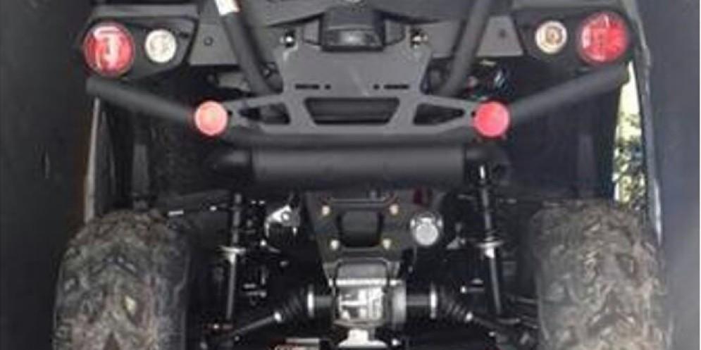 Nel furgone con duequad-bike rubati: due romeni in manette