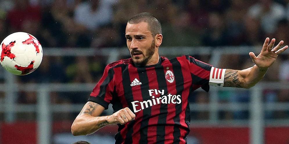 Il capitano del Milan Leonardo Bonucci