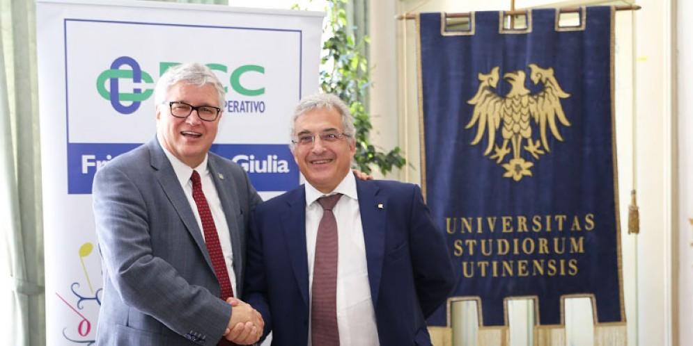 Sostegno agli studi universitari: rinnovato l'accordo con le Bcc Fvg