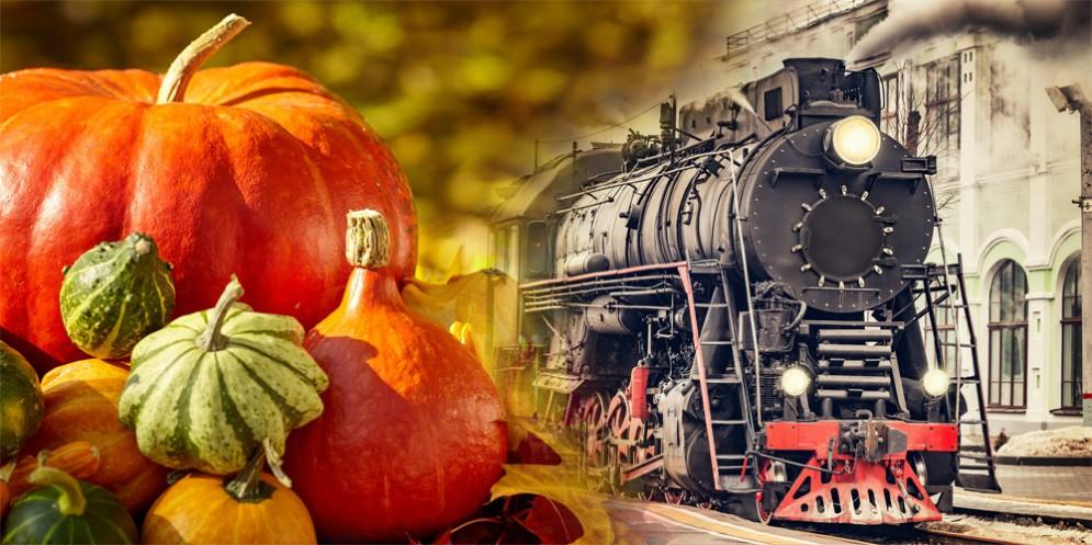 Festa della Zucca di Venzone: per la 25^ edizione c'è anche il treno storico!